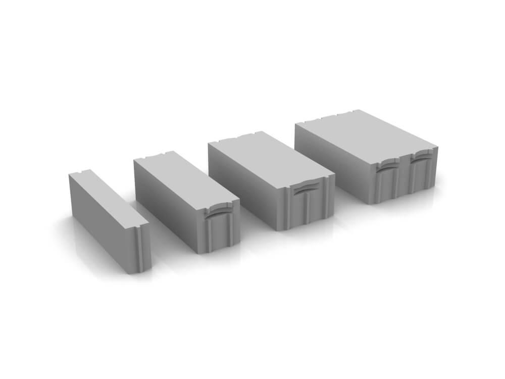 Варианты размеров твинблока